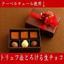 トリュフ ショコラ バレンタイン チョコレート