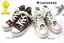 【送料無料】【在庫処分】【CONVERSE】【コンバース】【トムとジェリー】【トゥィーティー】 子供靴 オールスター ALL STAR ジュニア キッズシューズ 靴 *メール便不可*