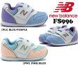 【ニューバランス】 子供靴 マジック キッズスニーカー ベビー 子供靴 履きやすい靴 NB ニューバランス FS996 *メール便不可*