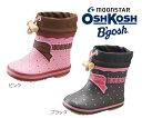 【在庫処分】【オシュコシュ】【ムーンスター】 OSK-WB134R レインブーツ ブーツ スノーブーツ 長靴 ウィンターブーツ ベビーブーツ キッズシューズ 子供靴 女の子 *メール便不可*
