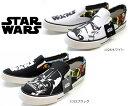 【STARWARS】スターウォーズ(STAR WARS) ディズニー スリッポンスニーカー ダースベイダー ストームトル...