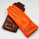 イタリア製グローブレディース革巻きビット付レザーグローブP342BOERIOボエリオ/レディース革手袋