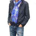ショッピングスカーフ イタリア製 メンズ 春夏ストールコットンチェックストール CT850BERLY ベリー 【マフラー】【スカーフ】【stole】【ブランド】