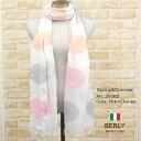ストール春夏イタリア製レディース・メンズ・ユニセックス25062-pink・BERLYベリー【マフラー】【スカーフ】【stole】【women】【men】11000