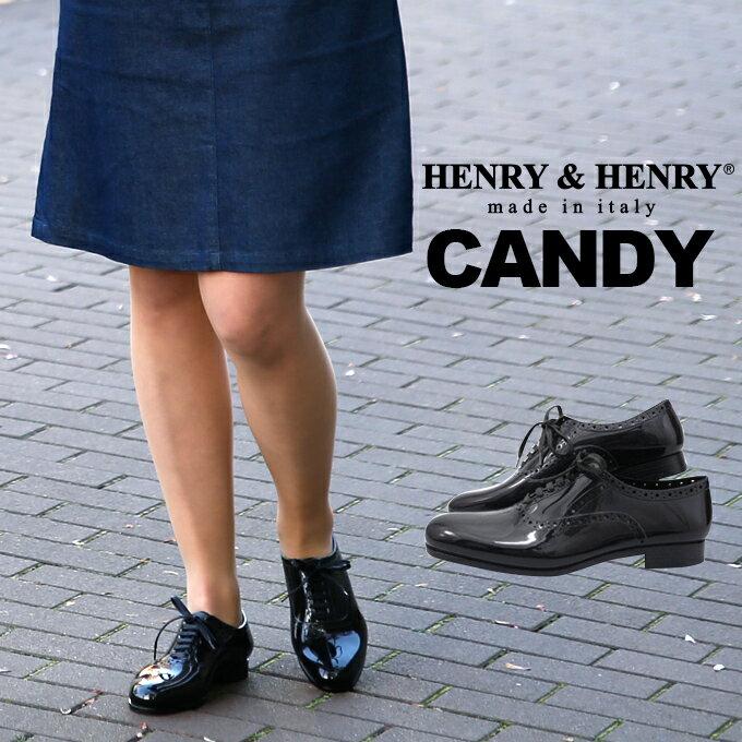 【日本正規品】【HENRY&HENRY(ヘンリー&ヘンリー)】 CANDYレースアップ ラバー シューズ レディース レインシューズ