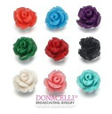 [50% OFF] [DONACELLI] 925 color cue tea rose stud bolt pierced earrings silver Swarovski pierced earrings [tomorrow easy correspondence] [smtb-TK] [easy ギフ _ packing] [fs01gm] [RCP] [fsp2124]