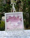 結婚祝い、お誕生日、記念日などのプレゼントに最適!!「プリザ−ブドフラワー メッセージボックス」ウエディング ウェルカムボード