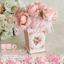 薔薇雑貨 ローズキラキラボールペン1輪 かわいい・姫系雑貨・文具・ピンク・バラ雑貨・結婚式・プチギフト・フラワー