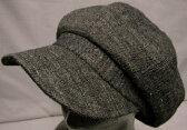 帽子・大きいサイズOKシェットランドクロス408キャスケット