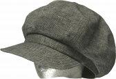 帽子・大きいサイズもOK綿麻トップ403キャスケット