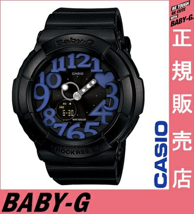 ★ reviews in Quo card 2千 Yen minutes ★ Casio baby-g black BGA-134-1BJF casio baby-g ladies Casio watches ladies casio watches baby-g purple neon Dial Watch neon dial-series