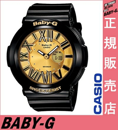 ★ reviews in Quo card 3千 Yen-★ Casio baby-g black BGA-160-1BJF casio baby-g ladies Casio watches ladies casio watch baby-g gold neon Dial Watch neon dial series