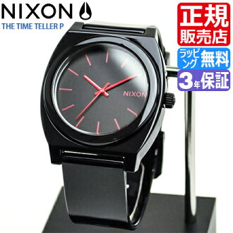 NIXON WATCH NA119480-00 TIME TELLER P BLACK/BRIGHTPINK