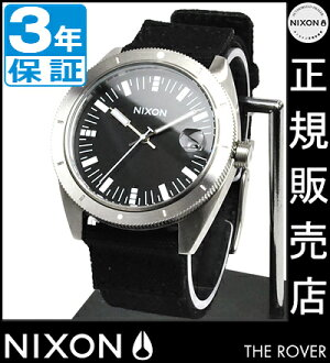 NIXON WATCH NA355000-00 ROVER BLACK
