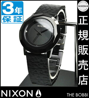NIXON WATCH NA341001-00 BOBBI ALL BLACK