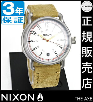 NIXON WATCH NA3221261-00 AXE DESERT SUEDE
