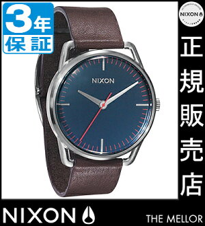 NIXON WATCH NA129879-00 MELLOR NAVY/BROWN