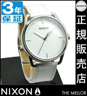 Nixon watch review, Quo coupon (2,000 yen) ★ [regular 3-year warranty] NA129391-00 Nixon Mellor Nixon watches ladies watches NIXON watch NIXON MELLOR SILVER/WHITE Nixon watch mens nixon watch 10P20Nov15