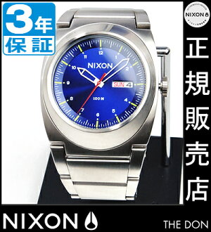 NIXON WATCH NA3581258-00 DON II BLUE SUNRAY