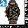 ニクソン 腕時計 レビューで8000円クーポン(次回)★ 送料無料 [正規3年保証] NA404679 ニクソン 38-20 クロノ ニクソン 腕時計 レディース 腕時計 NIXON 時計 NIXON 38-20 CHRONO ALL BLACK/TORTOISE クロノグラフ 腕時計 防水 nixon 腕時計 10P26Mar16