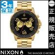 NIXONポータブルチェアプレゼント中★ ニクソン 腕時計 NA549513 レビューで8000円クーポン(次回)★ 送料無料 [正規3年保証] ニクソン レンジャー クロノ ニクソン 腕時計 メンズ 腕時計 NIXON 時計 NIXON RANGER CHRONO GOLD/BLACK クロノグラフ 腕時計
