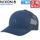 ショッピングnixon ニクソン キャップ [正規販売店] NC1862605 ニクソン 帽子 NIXON ICONED TRUCKER HAT メンズ キャップ レディース キャップ スナップバック