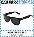レビューで2000円クーポン(次回)★ SV250-11J SABRE HEARTBREAKER S BLACK/GREY SABRE サングラス セイバー サングラス メンズ サング…