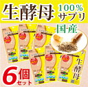 【6個セット】【生きてる酵母100%サプリ!】生酵母(30カプセル/ROTTS ロッツ/)【日本で採