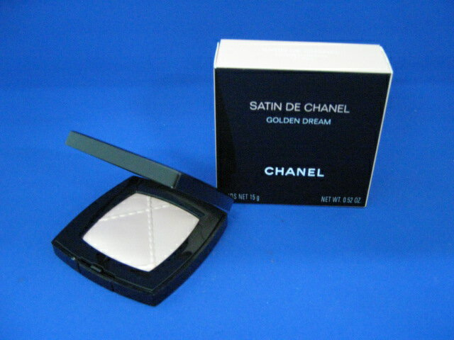 Golden Chanel poodle satin de Chanel dream (face powder) 15 g fs3gm.