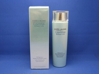 200 ml of Estee Lauder cyber white brilliant C lotions