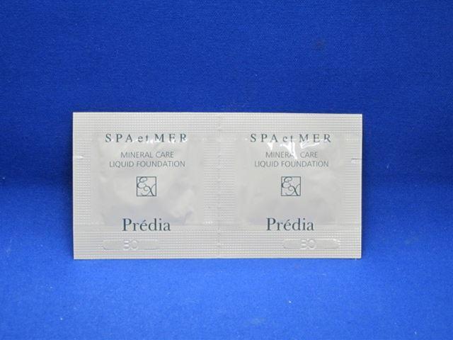Breadia Spa-et-mail ミネラルケアリキッドファンデーション EX OC410 0.6 ml x2 (pouch) fs3gm