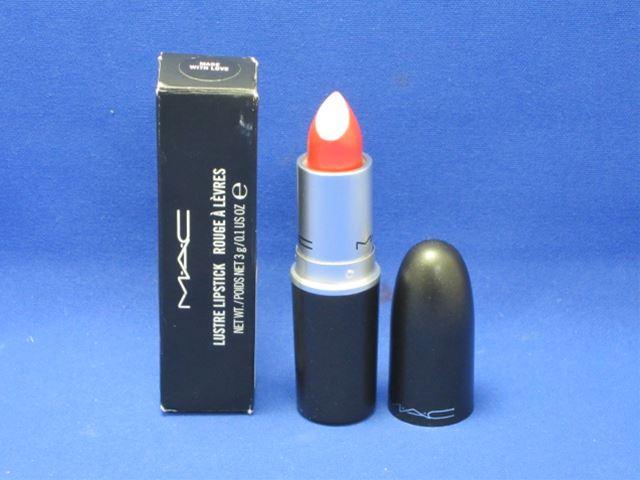 M, A, C( Mac) lipstick maid with love