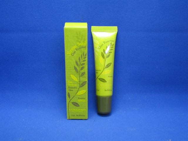 15 ml of L'OCCITANE sun Verbena hybrida UV lip gloss SPF15 fs3gm