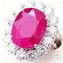 ルビー×ダイヤモンドリング 指輪 プラチナ R10,03ct D2,95ct 【新品】Ruby Diamond ring Platinum 【NEW】