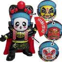 中国変面人形 大4面|四面,顔が変わる,中国芸能,マジック,マジシャン,京劇,かぶり面,中国,中華街