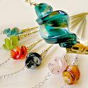 貝型ガラス珠の中華簪(かんざし)【ネコポス便可】 02P01Oct16