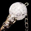 天然爆裂水晶の簪(かんざし)(クラッククリスタル)【ネコポス便可】 02P01Oct16