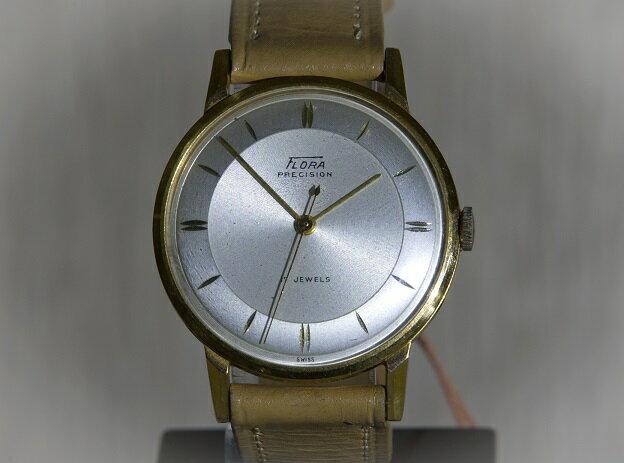 【送料無料】 FLORA(フローラ) ~50's FLORA PRECISION~ 【送料無料】 FLORA(フローラ) アンティークウォッチ 腕時計