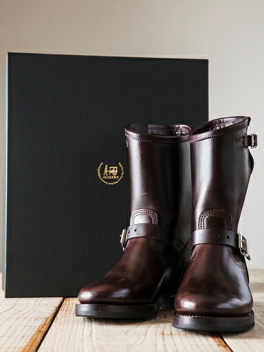 【送料無料】Makers(メイカーズ)〜HORSE ENGINNER HORWEEN BUTT LTD BURGANDY〜