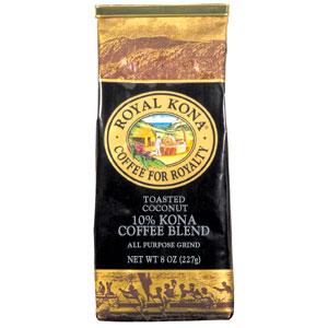 ロイヤルコナコーヒー トーステッドココナッツ