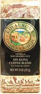 ロイヤルコナコーヒー バニラマカダミア