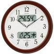 【送料無料】【カード決済のみ】【シチズン 電波掛け時計 電波時計 掛け時計 CITIZEN 温度 湿度 カレンダー デジタル】『シチズン カレンダー 電波掛時計 ネムリーナカレンダーM01 R4FYA01-006』 シチズン 電波掛け時計 電波時計 掛け時計 CITIZEN (DR-202)