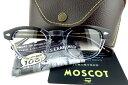 【ポイント10倍】MOSCOT/モスコットLEMTOSH/レムトッシュ 46BLACK CRYSTAL正規品【送料無料】【基本レンズ無料】
