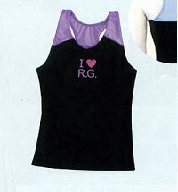 Sasaki /sasaki maid I ♥ R. G. Y バッグトップス (with Cup Pocket)