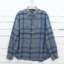 ショッピングネルシャツ OLD NAVY オールドネイビー チェック柄 ネルシャツ メンズ Lサイズ / lsshirt83sa / 【中古】
