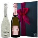 誕生日プレゼント父の日ワインギフトシャンドンロゼ/正規品&マバムグラシアラメスパークリングセットシャンパンギフト