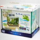 ★送料無料★GEX グラステリア300 LED(淡水・海水共用)30cm水槽【あす楽対応】