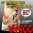 28年山形県産はえぬき10kg【送料無料!!】