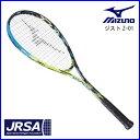 ミズノ ソフトテニスラケット ジストZ-01 63JTN73439 後衛 ソリッドブラック×スプラッシュ 00U 0U