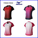 ミズノ レディースゲームシャツ 72MA7202